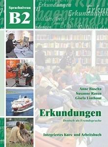 کتاب Erkundungen: Kurs- Und Arbeitsbuch B2 + CD