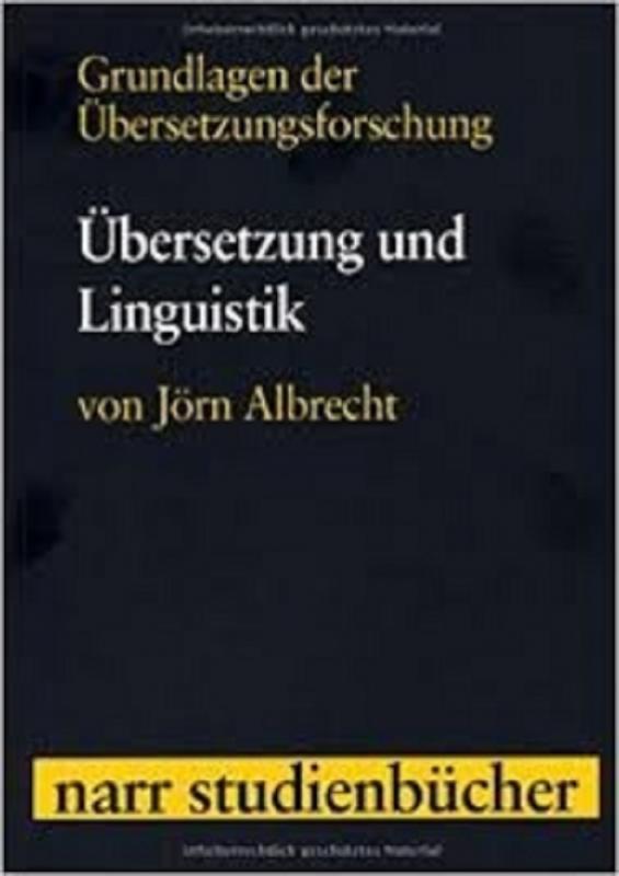 کتاب Grundlagen der Übersetzungsforschung Band 2: Übersetzung und Linguistik