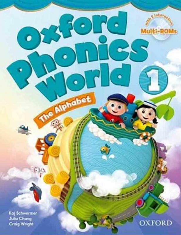 کتاب Oxford Phonics World 1 SB+WB+DVD