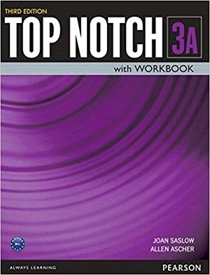کتاب تاپ ناچ Top Notch 3rd 3A+DVD