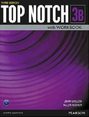 کتاب تاپ ناچ Top Notch 3rd 3B +DVD