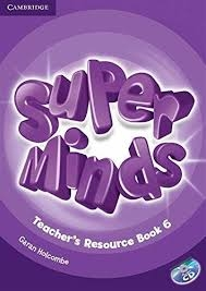 کتاب معلم Super Minds 6 Teachers Resource Book+CD