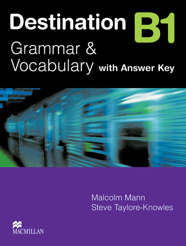کتاب Destination B1 Grammar and Vocabulary with Answer Key