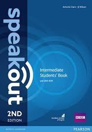 کتاب Speakout 2nd Intermediate SB+WB+2DVD