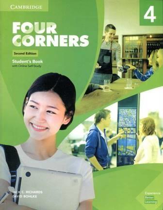 کتاب آموزشی فورکرنز Four Corners 2nd 4 SB+WB+DVD