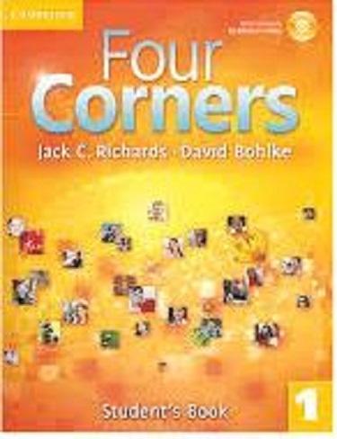 کتاب آموزشی فورکرنز Four Corners 1 Student Book and Work book with CD