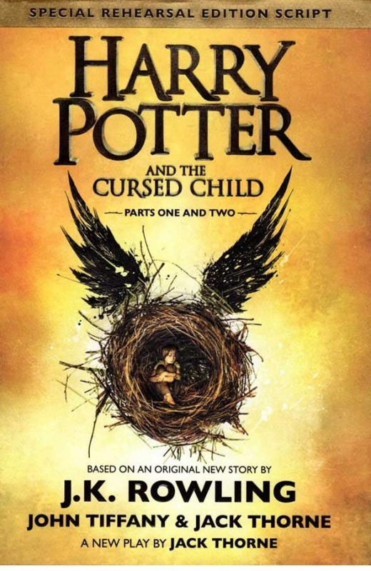 کتاب Harry Potter and the Cursed Child - Parts One and Two - Harry Potter 8