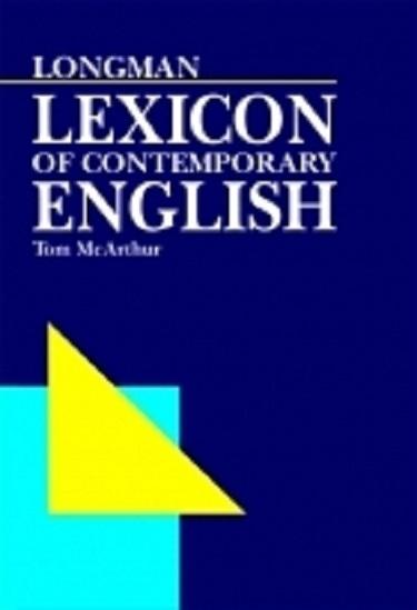 کتاب زبان LONGMAN LEXICON OF CONTEMPORARY ENGLISH