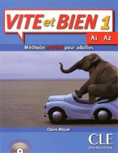کتاب فرانسه ویت ات بین ویرایش قدیم Vite et bien 1 - A1-A2