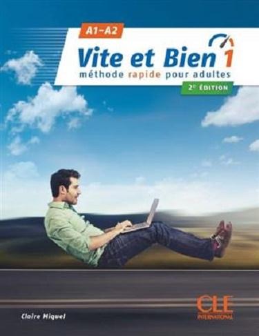 کتاب فرانسه ویت ات بین ویرایش جدید Vite et bien 1 - 2ème - A1-A2 + CD