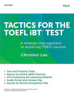 کتاب Tactics For The TOEFL IBT Test+Booklet+CD