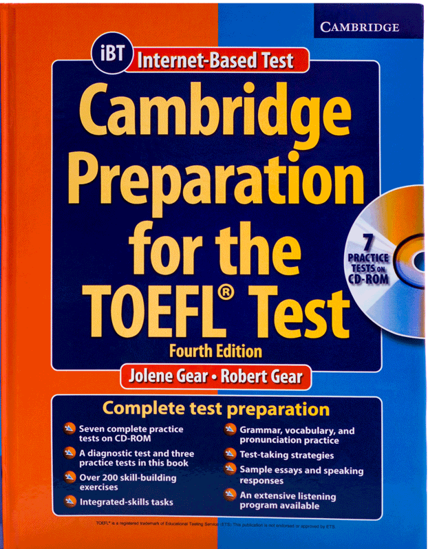 کتاب Cambridge Preparation for the TOEFL Test IBT 4th Edition