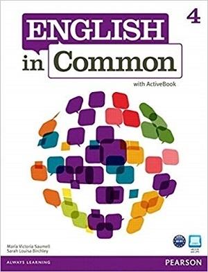 کتاب English in Common (4) SB+WB+CD