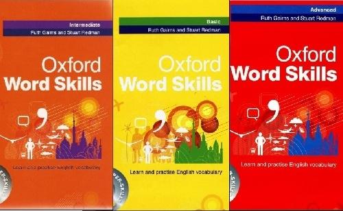مجموعه 3 جلدی Oxford Word Skills وزیری