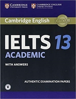 کتاب IELTS Cambridge 13 Academic+CD رنگی