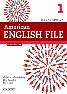 کتاب امریکن انگلیش فایل American English File 2nd 1 SB+WB+DVD تحریر