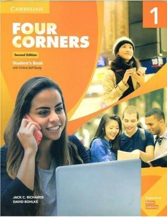 کتاب آموزشی فورکرنز جدید Four Corners 2nd 1 SB+WB+DVD