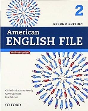 کتاب امریکن انگلیش فایل American English File 2nd 2 SB+WB+DVD