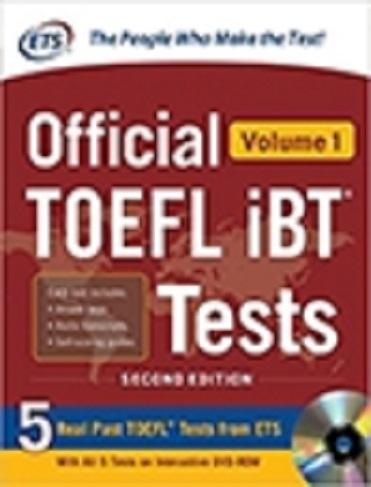 کتاب Official TOEFL iBT Tests Volume 1 2nd Edition with cd