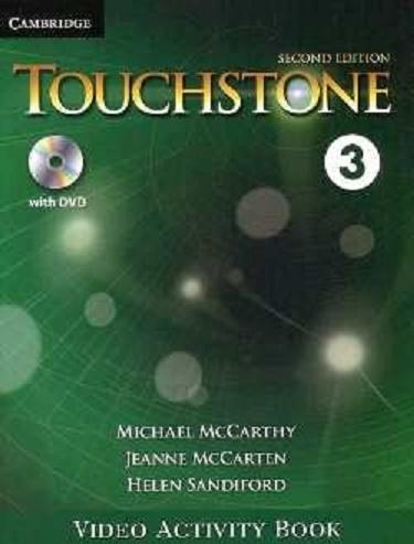 کتاب فيلم تاچ استون Touchstone 3 Video Activity Book 2nd Edition
