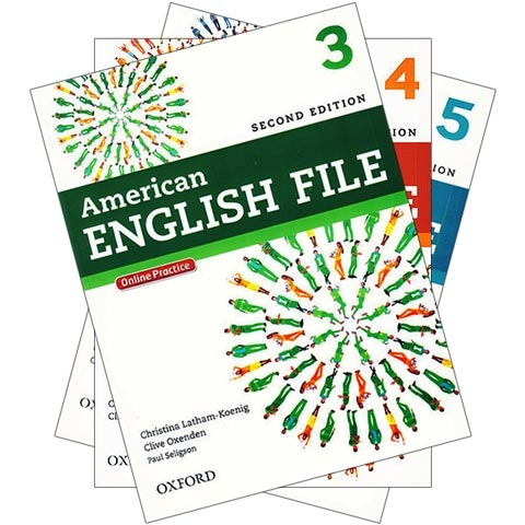 پکیج 3 جلد دوم کتابهای امریکن انگلیش فایل