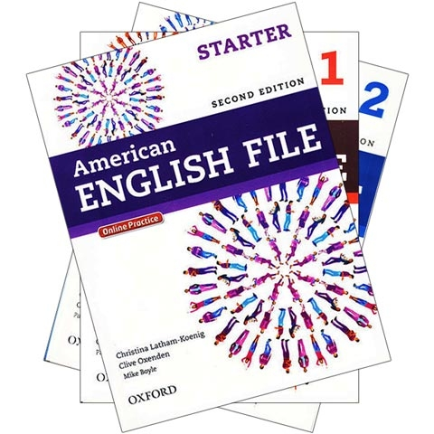 پکیج 3 جلد اول کتابهای امریکن انگلیش فایل