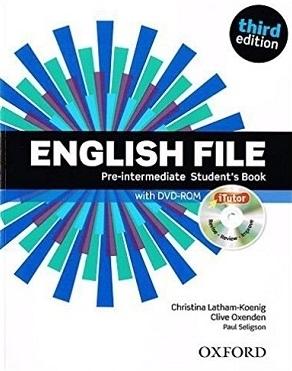 کتاب English File Pre-intermediate Student Book 3rd