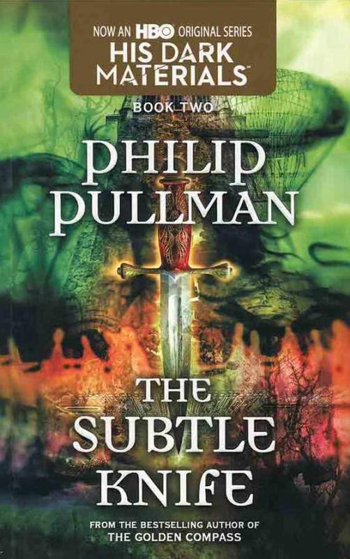 کتاب The Subtle Knife Book - His Dark Materials 2