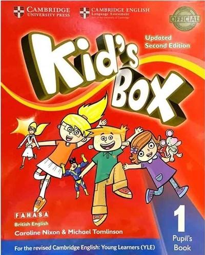 کتاب Kids Box 1 - Updated 2nd Edition SB+WB+CD