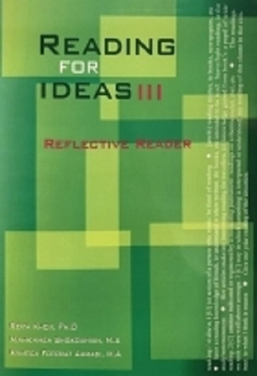 کتاب Reading for Ideas 3 Reflective Reader