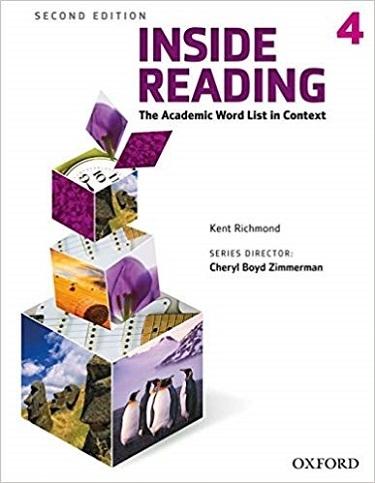 کتاب اینساید ریدینگ ویرایش دوم  Inside Reading 2nd 4 سایز کوچیک