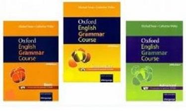 کتاب گرامر پک سه جلدی Oxford English Grammar Course