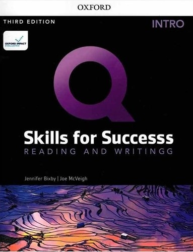 کتاب Q Skills for Success 3rd Intro Reading and Writing +DVD