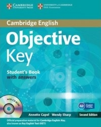 کتاب زبان (Objective Key 2nd (SB+WB+for schools+CD