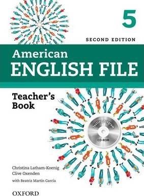 کتاب معلم American English File 5 Teachers Book+CD 2nd Edition
