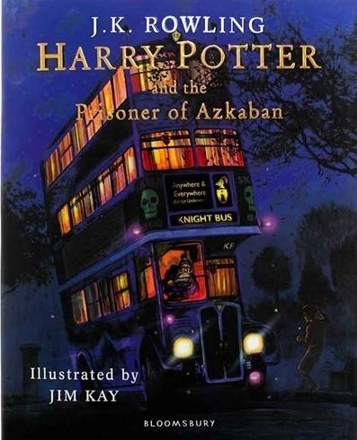 کتاب Harry Potter and the Prisoner of Azkaban Illustrated Edition Book 3