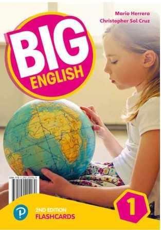 کتاب بیگ انگلیش Big English 2nd 1 SB+WB+CD