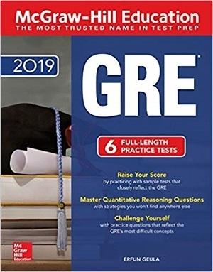 کتاب McGraw-Hill Education GRE 2019