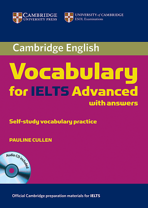 کتاب واژگان آیلتس پیشرفته Cambridge English Vocabulary for IELTS Advanced with Answers