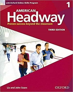 کتاب آموزشی امریکن هدوی American Headway 3rd 1 SB+WB+DVD