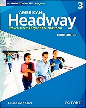 کتاب آموزشی امریکن هدوی American Headway 3rd 3 SB+WB+CD