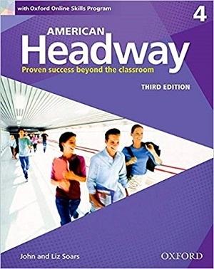 کتاب آموزشی امریکن هدوی American Headway 3rd 4 SB+WB+DVD