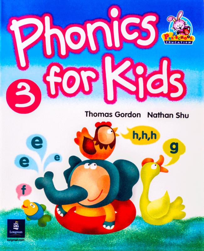کتاب فونیکس فور کیدز Phonics For Kids 3 Book