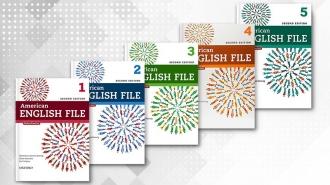 کتاب آموزشی امریکن انگلیش فایل American English File
