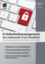 کتاب IT-Sicherheitsmanagement - Das umfassende Praxis-Handbuch für IT-Security und technischen Datenschutz nach ISO 27001