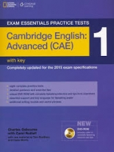 کتاب  Exam Essentials Practice Tests Advanced (CAE) 1+CD