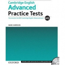 کتاب زبان Cambridge English Advanced Practice Tests+CD