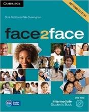 کتاب آموزشی فیس تو فیس face2face intermediate 2nd s.b+w.b+dvd