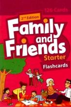 فلش کارت زبان Family and Friends starter (2nd)Flashcards