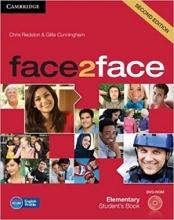 کتاب آموزشی فیس تو فیس face2face Elementary 2nd s.b+w.b+dvd